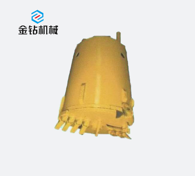 Rotary drilling tool_Double bottom soil bucket
