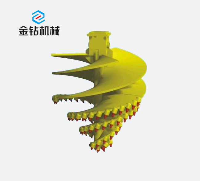Rotary drilling tool_Biconical twin-screw bit